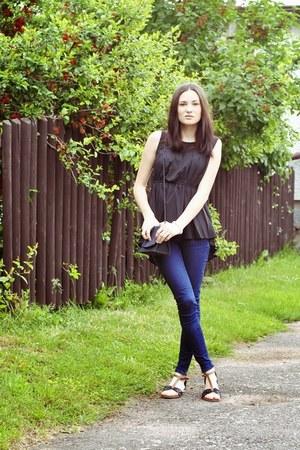 Zara jeans - Eyeboxs shirt