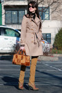 Orange-banana-republic-coat-burnt-orange-loewe-bag