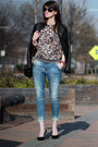 Black-chanel-bag-sky-blue-zara-jeans-heather-gray-zara-sweater