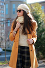 Mustard-calvin-klein-coat-off-white-jcrew-scarf