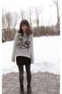 Proenza-schouler-for-target-sweatshirt-dolce-vita-boots