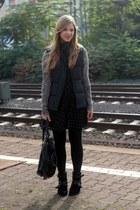 Primark vest - Aldo boots - Monki dress