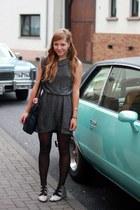vintage dress - vintage shoes