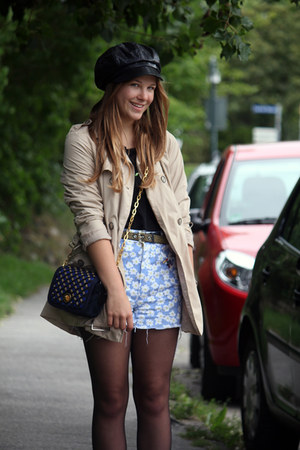 vintage shorts - via Karstadt hat - H&amp;M shirt - Marc by Marc Jacobs bag