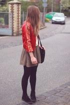 adidas jacket - Zara shirt
