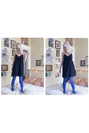 Old Navy dress - aa tights