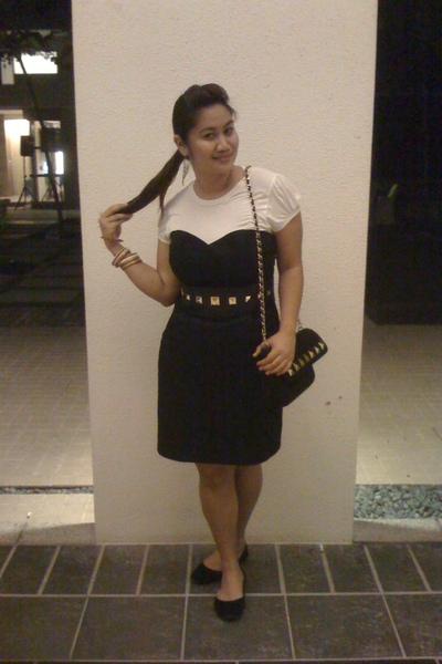 H&M dress - H&M belt