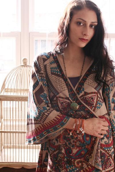 boho kimono Bohemian cardigan