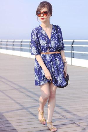 blue Choies dress