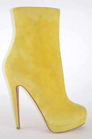 yellow Christian Louboutin shoes - yellow Christian Louboutin shoes - yellow Chr