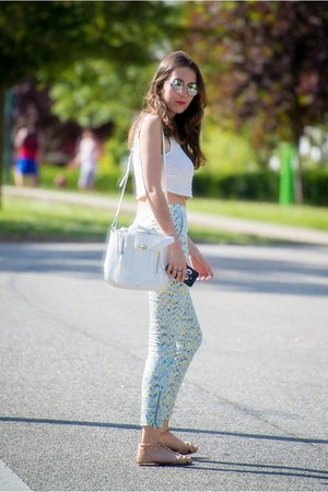 Zara pants - 31 Phillip Lim bag - Bershka sandals - Zara top