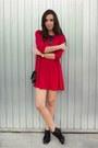 Pertini-shoes-bershka-dress