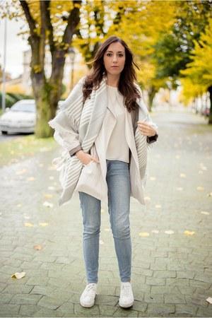 Zara jacket - Zara scarf - Zara blouse