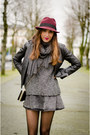 Zara-shoes-zara-man-hat-mango-jacket-mary-paz-bag-h-m-skirt