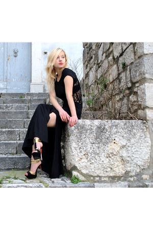 lace long Novorish dress