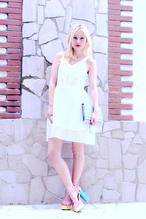 white Novorish dress