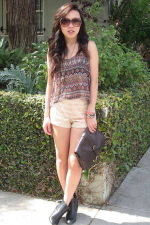 Lush top - Urban Outfitters shorts
