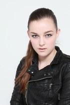 Pu Leather Violet Boutique Jackets