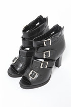 leather Violet Boutique shoes