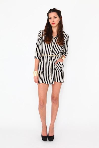 striped Violet Boutique dress