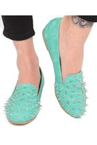 spiked Violet Boutique flats