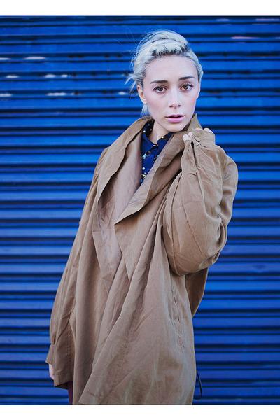 tan khaki Violet Boutique jacket
