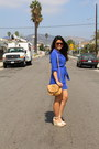 Blue-forever-21-dress-brown-forever-21-bag-creme-candies-wedges