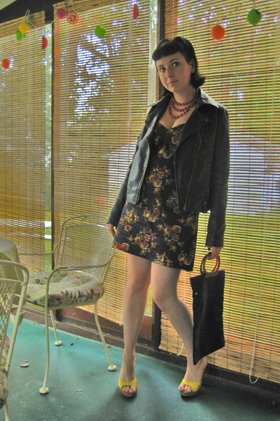 handmade dress - Silence & Noise jacket - Target shoes - Forever21 accessories -