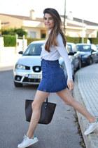 navy Sheinside skirt