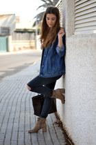 camel Nine West boots