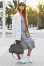 Silver-zaful-dress