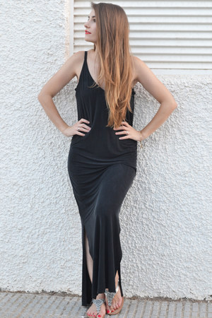 black warehouse dress