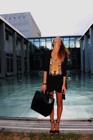Zara bag - Zara shorts - Zara swimwear - Zara heels