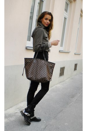 Zara jacket - Louis Vuitton bag - Dolce&Gabbana pants