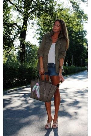 H&M jacket - Seven 7 shorts