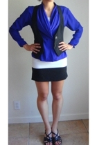 blouse - vest - intimate - skirt - shoes