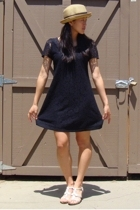 Forever21 dress - quicksilver hat - aerosoles shoes