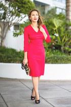 red PIOL dress
