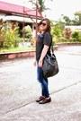Crimson-brogues-payless-shoes-black-the-ramp-shirt-black-mango-bag