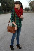 jennifercom jeans - H&M shirt - Pimkie bag