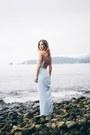 Blue-maxi-forever-21-dress