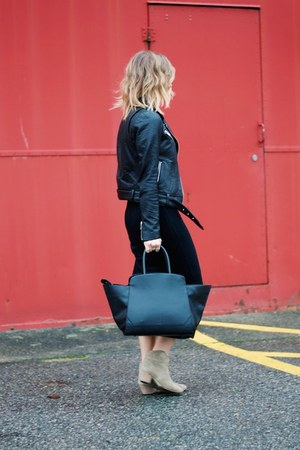 midi Aritzia dress - beige suede Isabel Marant boots - black leather Aritzia bag