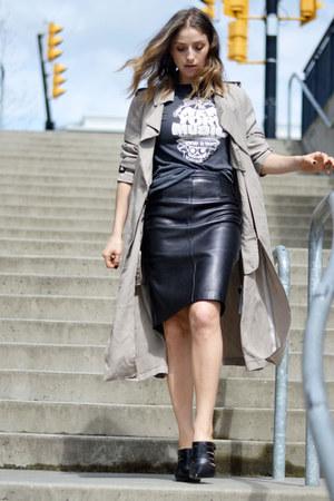 Zara coat - Aldo heels