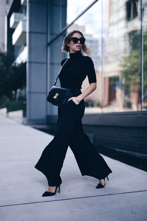 Celine bag - Express sweater - wide leg Express pants