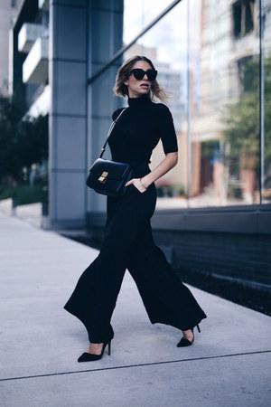 Celine bag - Express sweater - wide leg Express pants