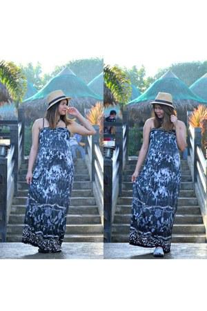 Max hat - Forever 21 dress - Forever 21 sandals