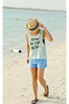 Billabong shorts - Ripcurl blouse - Vans sandals