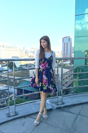 Mango top - Payless shoes - Forever 21 dress