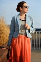 tulip skirt Target skirt - chambray Target jacket