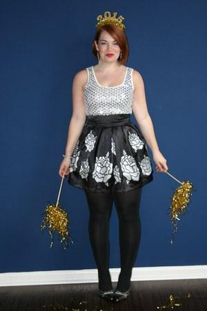 black Charlotte Russe skirt